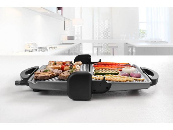 CG 196BK CG 298BK detail lifestyle barbecue position meat vegetables