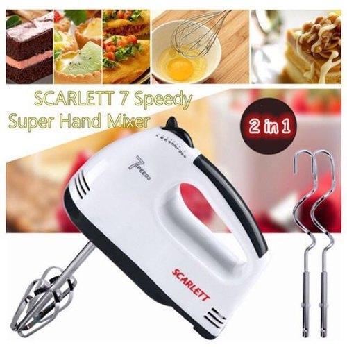 scarlett 7 speed lightweight hand mixer with chrome beater dough hook white 180 hand blender 500x500 1