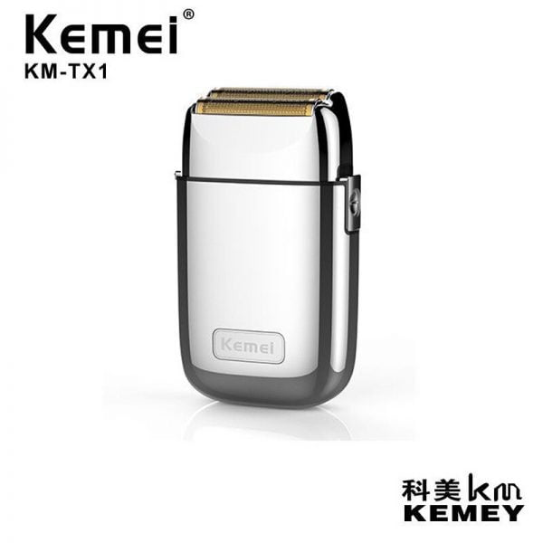 kemei electric Shaver KM TX1 portable electric men razor Reciprocating shaver beard trimmer bald head clipper