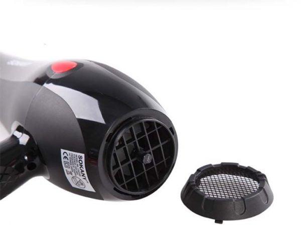 sokany model cm5506 2400w hair dryer side